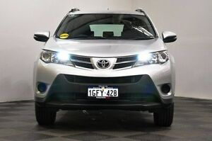 2013 Toyota RAV4 ASA44R MY14 GX AWD Silver 6 Speed Sports Automatic Wagon Edgewater Joondalup Area Preview