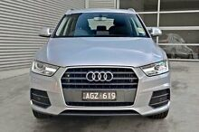 2015 Audi Q3 8U MY16 TFSI S tronic Silver 6 Speed Sports Automatic Dual Clutch Wagon Berwick Casey Area Preview