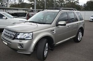 2014 Land Rover Freelander 2 LF MY14 Gold 6 Speed Sports Automatic Wagon North Gosford Gosford Area Preview