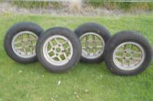 Ford Laser  MAG WHEELS 13 INCH NEW TYRES GOOD CONDITION Rouchel Upper Hunter Preview