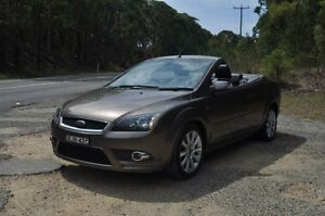 2007 Ford Focus LT Coupe-Cabriolet Brown 5 Speed Manual Cabriolet Belmont Lake Macquarie Area Preview