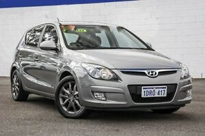 2011 Hyundai i30 FD MY11 SLX Grey 6 Speed Manual Hatchback Maddington Gosnells Area Preview