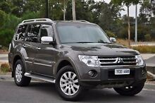 2010 Mitsubishi Pajero NT MY11 Exceed Brown 5 Speed Sports Automatic Wagon Knoxfield Knox Area Preview