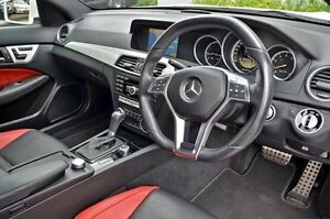 2012 Mercedes-Benz C63 White Sports Automatic Coupe Burwood Whitehorse Area Preview