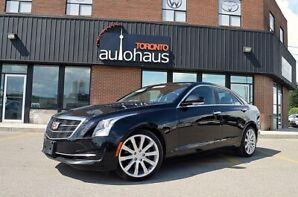 2015 Cadillac ATS,Navigation,Leather,Panoramic Luxury AWD