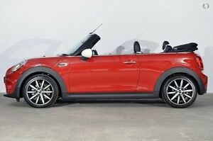 2016 Mini Convertible F57 Cooper Blazing Red 6 Speed Automatic Convertible Alexandria Inner Sydney Preview