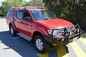 2009 Mitsubishi Triton MN MY10 GL-R Double Cab Red 5 Speed Manual Utility Renown Park Charles Sturt Area Preview