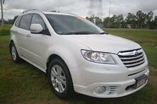 2012 Subaru Tribeca B9 MY12 R AWD Premium Pack White 5 Speed Sports Automatic Wagon Vincent Townsville City Preview