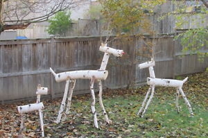 Christmas Birch Reindeer