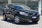 2012 Volvo XC60 DZ MY12 T5 PwrShift Black 6 Speed Sports Automatic Dual Clutch Wagon St James Victoria Park Area Preview