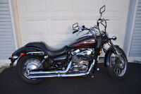 Beautiful 2009 Honda Shadow Spirit Sell Trade for Outboard Motor