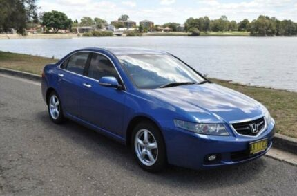 2004 Honda Accord Euro Luxury Blue 5 Speed Sequential Auto Sedan