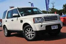 2010 Land Rover Discovery 4 Series 4 10MY TdV6 CommandShift SE White 6 Speed Sports Automatic Wagon Wangara Wanneroo Area Preview