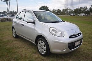 2013 Nissan Micra K13 MY13 ST-L Silver 4 Speed Automatic Hatchback Vincent Townsville City Preview