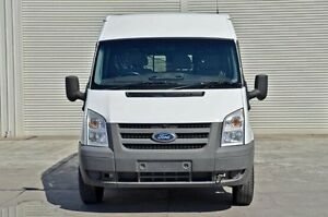 2011 Ford Transit VM 330 Mid Roof MWB White 6 Speed Manual Van Seaford Frankston Area Preview