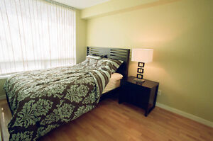 Furnished and no pet, 1 bdrm + 2 dens in Downtown