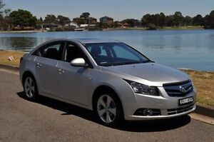 2010 Holden Cruze JG CDX Silver 6 Speed Automatic Sedan Croydon Burwood Area Preview