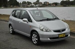 2004 Honda Jazz VTi Silver 7 Speed CVT Auto Sequential Hatchback Croydon Burwood Area Preview