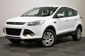 2015 Ford Kuga TF MY15 Ambiente AWD White 6 Speed Sports Automatic Wagon Edgewater Joondalup Area Preview