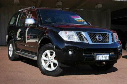 2010 Nissan Pathfinder R51 MY10 TI Black 5 Speed Auto Seq Sportshift Wagon Northbridge Perth City Preview