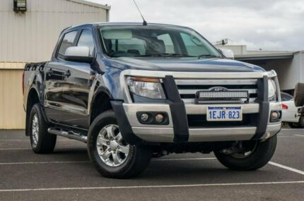 2013 Ford Ranger PX XLS Double Cab Grey 6 Speed Manual Utility