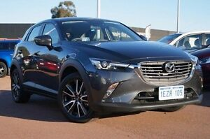 2015 Mazda CX-3 DK4WSA sTouring SKYACTIV-Drive AWD Grey 6 Speed Sports Automatic Wagon Wilson Canning Area Preview