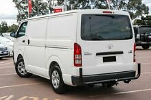 2006 Toyota Hiace KDH201R LWB White 5 Speed Manual Van Balcatta Stirling Area Preview