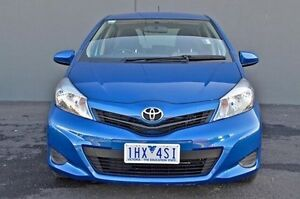 2013 Toyota Yaris Blue Automatic Hatchback Cranbourne Casey Area Preview