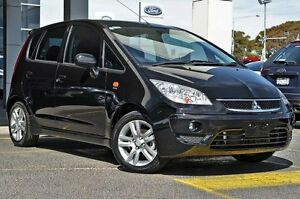 2009 Mitsubishi Colt RG MY09 VR-X Panther Black 1 Speed Constant Variable Hatchback Mornington Mornington Peninsula Preview