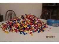 Lego 10kg assorted bricks