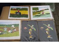 Vietnamese Hand Crafted Pictures