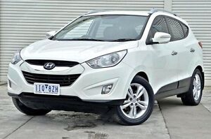 2011 Hyundai ix35 LM MY11 Elite AWD White 6 Speed Sports Automatic Wagon Seaford Frankston Area Preview