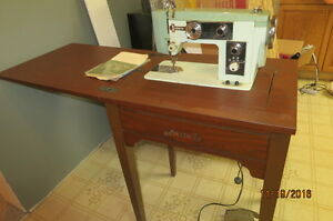 Zenith Sewing Machine and Cabinet