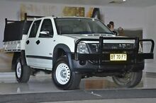 2007 Holden Rodeo RA MY07 LX Crew Cab White 5 Speed Manual Cab Chassis Liverpool Liverpool Area Preview