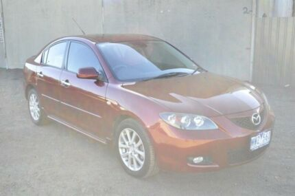 2008 Mazda 3 BK MY06 Upgrade Maxx Red 4 Speed Auto Activematic Sedan Hoppers Crossing Wyndham Area Preview