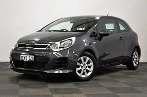 2015 Kia Rio UB MY15 S Grey 6 Speed Manual Hatchback Edgewater Joondalup Area Preview