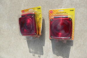 Universal trailer Stop, turn and tail signal lights