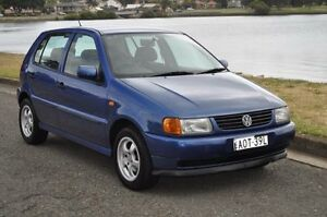 1998 Volkswagen Polo Blue 4 Speed Automatic Hatchback Croydon Burwood Area Preview