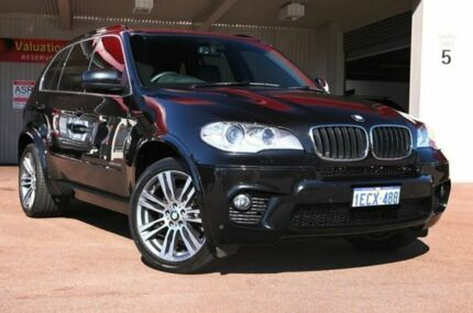 2013 BMW X5 E70 MY1112 xDrive30d Steptronic Black Sapphire 8 Speed Auto Seq Sportshift Wagon Northbridge Perth City Preview