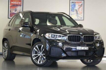 2013 BMW X5 F15 xDrive30d Platinum Grey Automatic Wagon