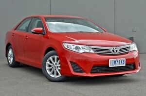2014 Toyota Camry ASV50R Altise Red 6 Speed Sports Automatic Sedan Cranbourne Casey Area Preview