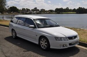 2004 Holden Berlina VZ White 4 Speed Automatic Wagon Croydon Burwood Area Preview