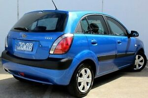 2007 Kia Rio JB MY07 EX Blue 5 Speed Manual Hatchback Berwick Casey Area Preview