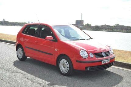 2005 Volkswagen Polo 9N Elite Red 4 Speed Automatic Hatchback