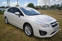 2014 Subaru Impreza G4 MY14 2.0i-L Lineartronic AWD White 6 Speed Constant Variable Sedan Vincent Townsville City Preview