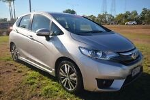 2014 Honda Jazz GF MY15 VTi-L Silver 1 Speed Constant Variable Hatchback Vincent Townsville City Preview