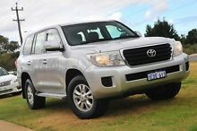 2013 Toyota Landcruiser URJ202R MY12 GXL Silver 6 Speed Sports Automatic Wagon Wangara Wanneroo Area Preview