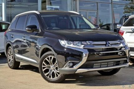 2015 Mitsubishi Outlander ZK MY16 Exceed (4x4) Black 6 Speed Automatic Wagon Blacktown Blacktown Area Preview