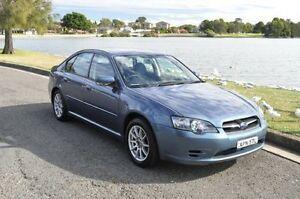 2003 Subaru Liberty MY04 2.0I Grey 4 Speed Auto Elec Sportshift Sedan Croydon Burwood Area Preview