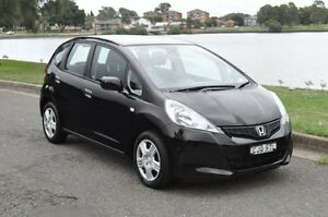 2012 Honda Jazz GE MY12 GLi Black 5 Speed Automatic Hatchback Croydon Burwood Area Preview